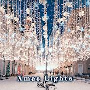 Beautiful Wallpaper Xmas Lights Theme