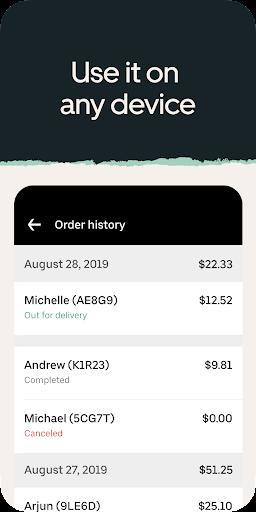 Uber Eats Orders  Screenshots 4