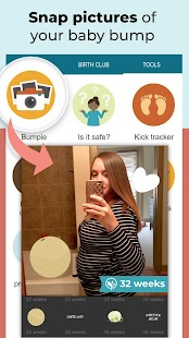 Pregnancy Tracker + Countdown to Baby Due Date Screenshot