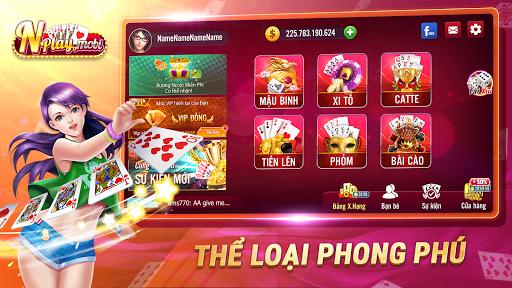 NPLAY: Game Bu00e0i Online, Tiu1ebfn Lu00ean MN, Binh, Poker.. 3.5.1 screenshots 1