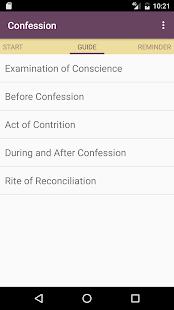 Confession Guide ✝