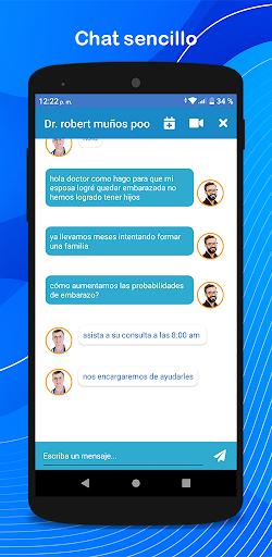 Doctiplus Chat Mu00e9dico - Doctores en lu00ednea 24/7  Screenshots 6