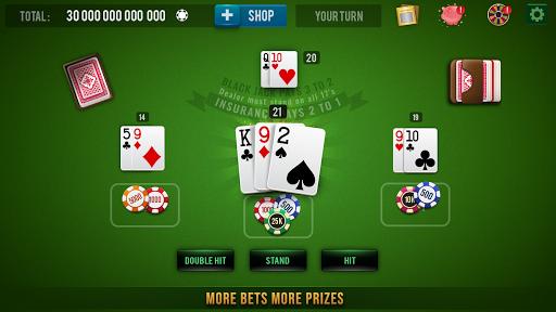 BLACKJACK 21 Casino Vegas: Black Jack 21 Card Game 1.0.6 Screenshots 2