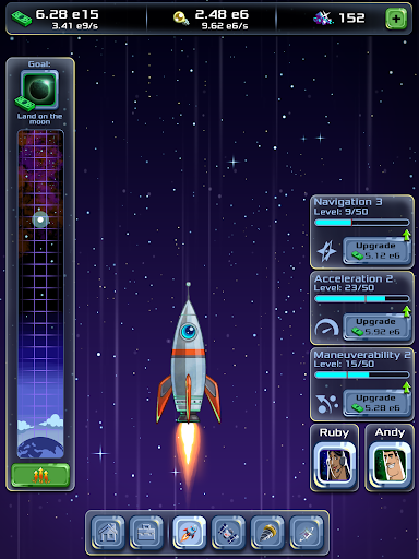 Idle Tycoon: Space Company modavailable screenshots 7