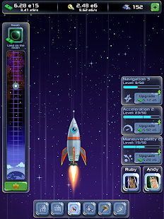 Idle Tycoon: Space Company Screenshot