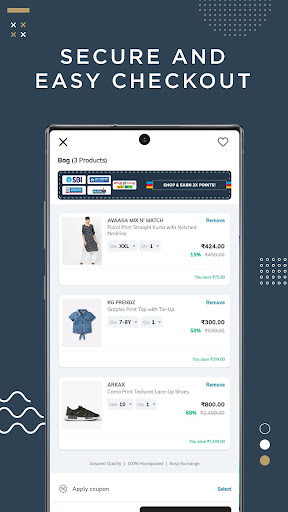 AJIO Online Shopping - Handpicked Curated Fashion 6.10.1 screenshots 5