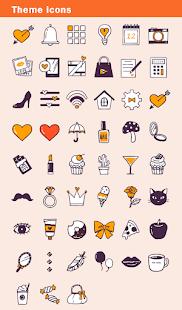 Image For Cute Wallpaper Love Line Art Theme Versi 1.0.1 5
