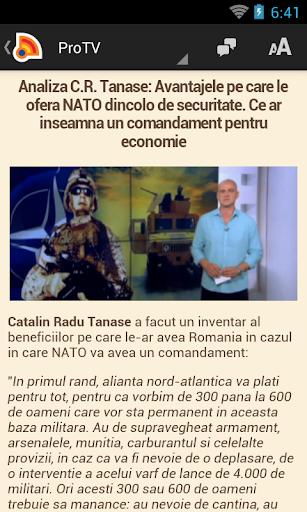 Stiri din Romania 4.9.0 Screenshots 7