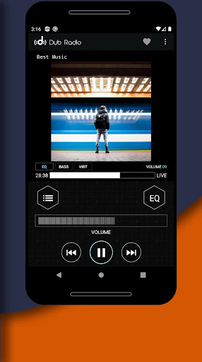 Dub Radio - Online fm radio tuner + equalizer android2mod screenshots 4