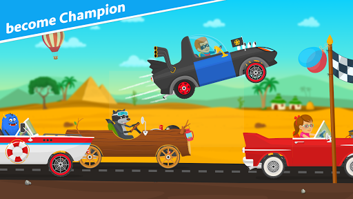 Racing car games for kids 2-5. Cars for toddlers apkpoly screenshots 3