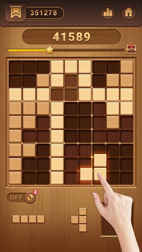 Wood Block Sudoku Game -Classic Free Brain Puzzle  screenshots 10
