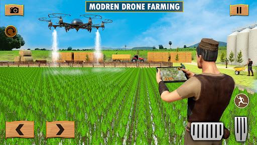 Real Tractor Driving Simulator : USA Farming Games  screenshots 2