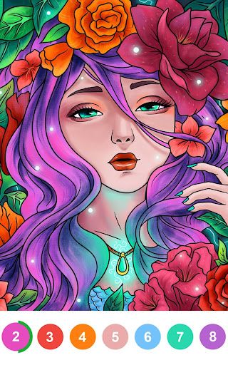 Paint By Number - Coloring Book & Color by Number 2.32.1 screenshots 10
