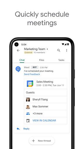 Google Chat apktram screenshots 5