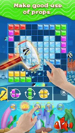 Block Puzzle & Fish - Free Block Puzzle Games  screenshots 2