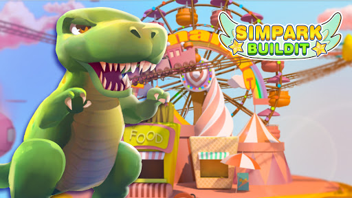 Sim Park Buildit - Dinosaur Theme Park  screenshots 1