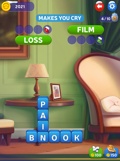 u2764ufe0fKitty Scramble: Word Stacks android2mod screenshots 11