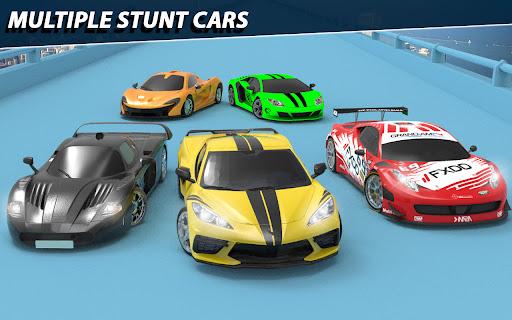 Impossible Car Stunt Game 2021 - Racing Car Games  screenshots 8