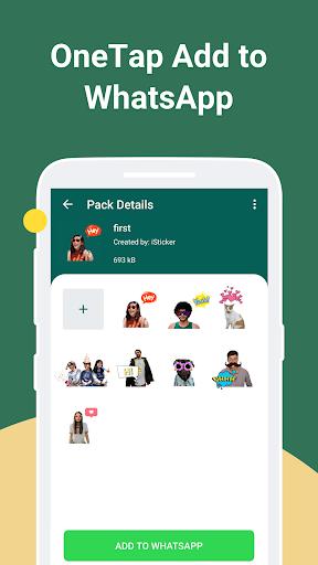 iSticker - Sticker Maker for WhatsApp stickers screenshots 7
