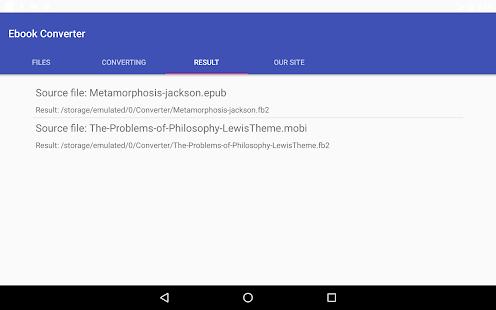 Ebook Converter (EPUB, MOBI, FB2, PDF, DOC, ...)
