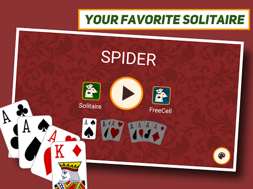 Spider Solitaire: Classic screenshot 11