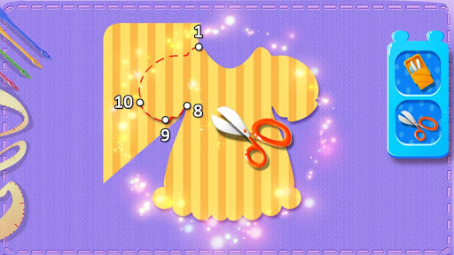 u2702ufe0fud83euddf5Little Fashion Tailor 2 - Fun Sewing Game  screenshots 9