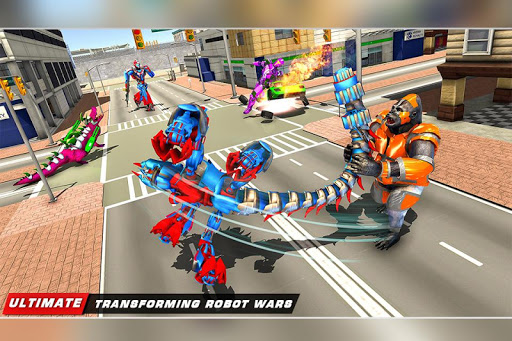 Scorpion Robot Transforming u2013 Robot shooting games  screenshots 15