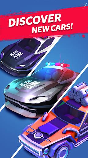 Merge Cyber Cars: Sci-fi Punk Future Merger 2.0.23 screenshots 8