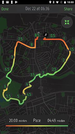Running Distance Tracker + 2.0.1 Screenshots 4