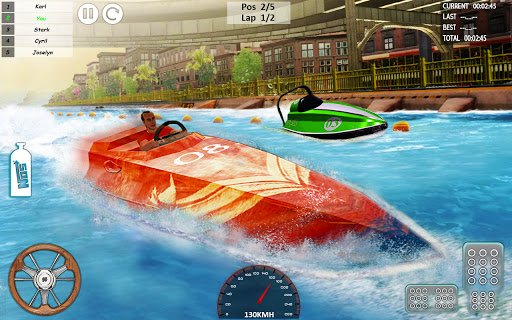 Xtreme Boat Racing 2019: Speed Jet Ski Stunt Games apktram screenshots 5