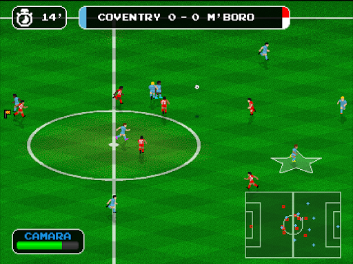 Retro Goal Apkfinish screenshots 7
