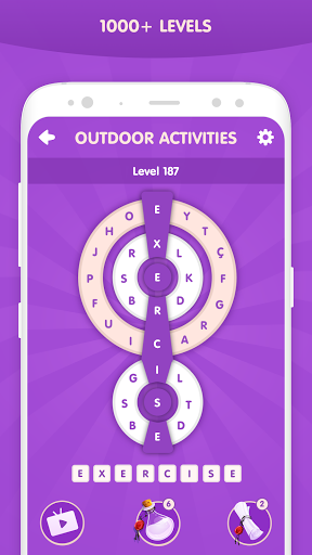 Word Wheel - Word Puzzle Game  screenshots 3
