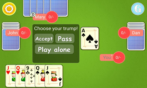 Euchre Mobile android2mod screenshots 3