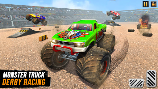 Real Monster Truck Demolition Derby Crash Stunts  Screenshots 9