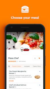 Lieferando.de-食べ物を注文する