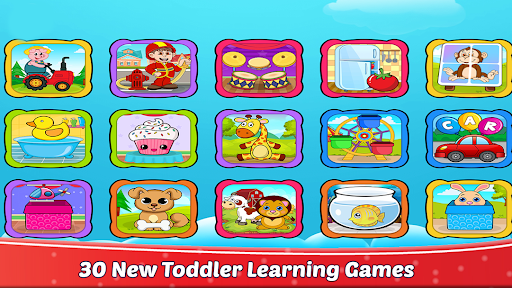 30 Toddler Games For 2-5 Year Olds: Learn at Home apktreat screenshots 2