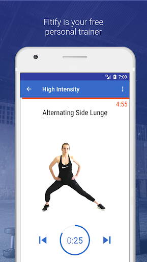 HIIT & Cardio Workout by Fitify 1.6.5 Screenshots 1
