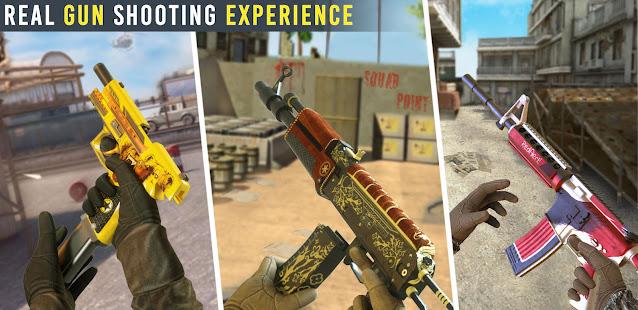 Commando Shooting Games 2021: Real FPS Free Games 21.6.3.0 Screenshots 4