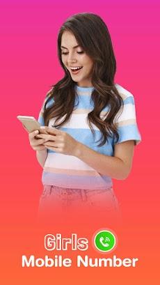 Girls Mobile Number Prank –Random Girls Video Chatのおすすめ画像1