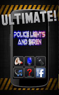Police Lights & Siren Ultimate Prank 1
