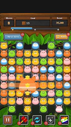 ジャングル マッチ パズルのおすすめ画像3