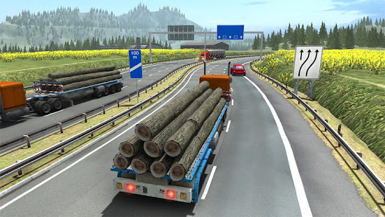 Truck Simulator Transporter Game - Extreme Driving Unlimited Money