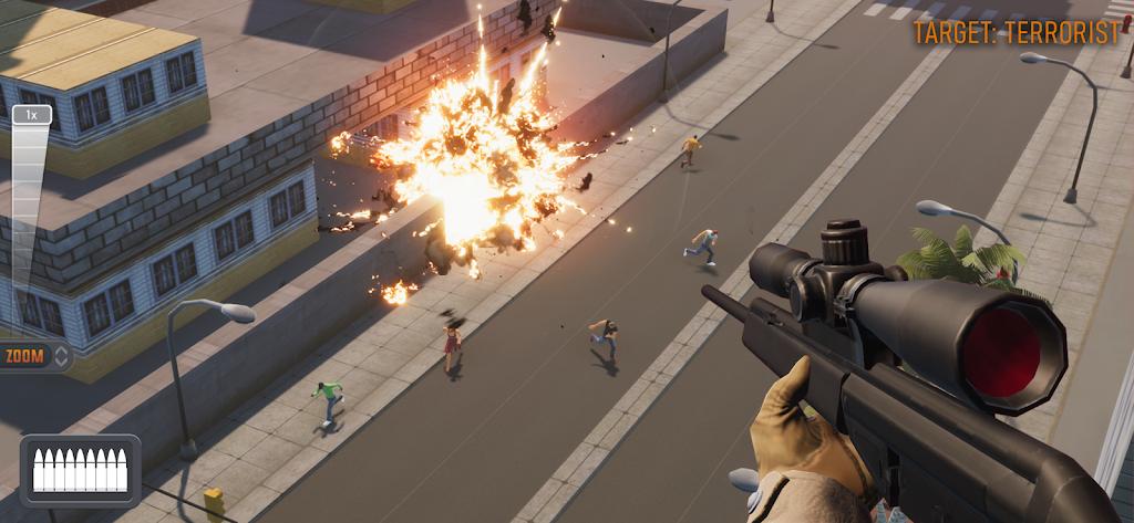 Sniper 3D: Fun Free Online FPS Shooting Game poster 13