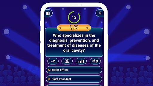 Millionaire 2021 -  Free Trivia Quiz Offline Game  screenshots 16