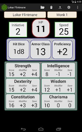 Fifth Edition Character Sheet apktram screenshots 9