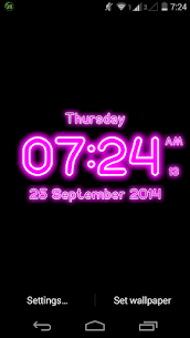 Neon Digital Clock Live For Pc – Free Download On Windows 10, 8, 7 1