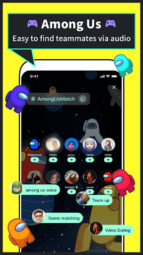 Tiya - Find a friend Among Us  screenshots 1