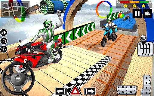 Impossible Stunts Bike Racing Games 2018: Sky Road  screenshots 21