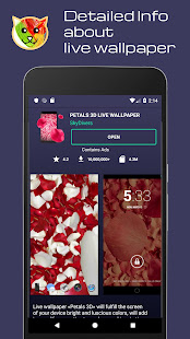 Live wallpapers HD, 4K, 3D CATLi catalogue