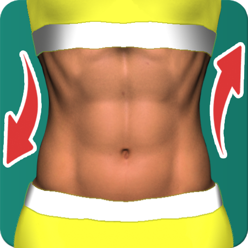 Abs workout plan for 30 days icon